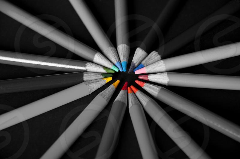 Pencils Color photo