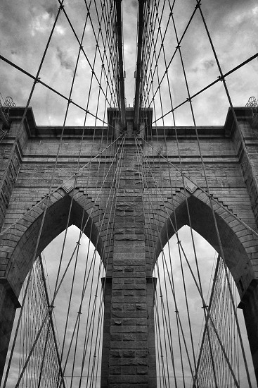 Brooklyn bridge.  photo