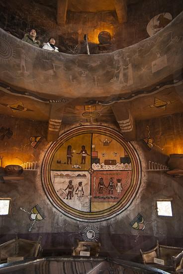 Inside the Desert View Watchtower photo