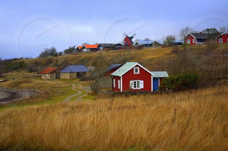 Öland Sweden....beautiful all year round. photo