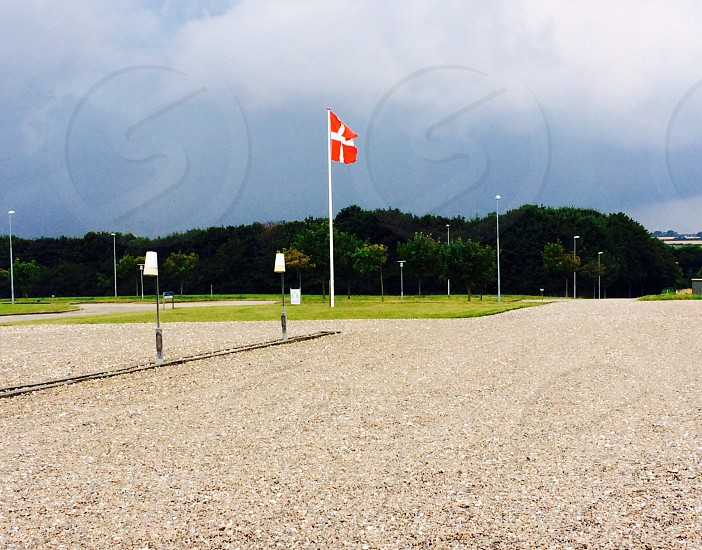#Denmark #flag #europe #summer  photo