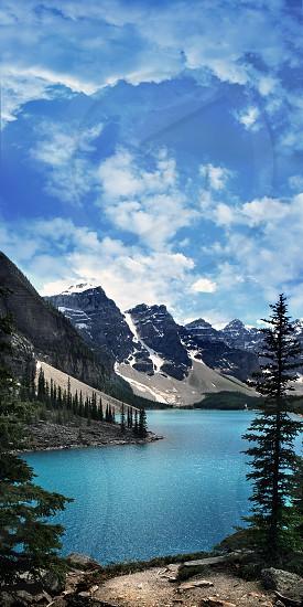 Moraine Lake British Columbia  photo