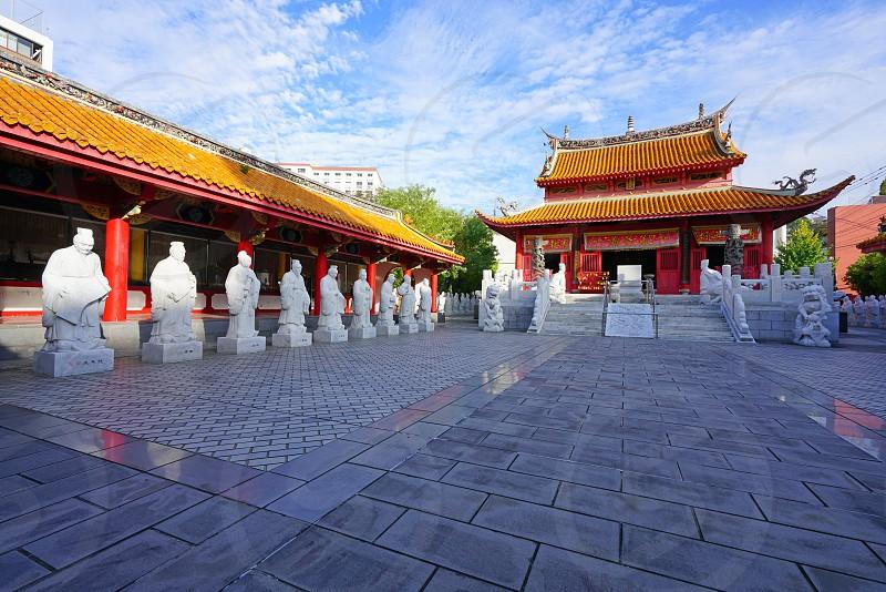 Confucius Shrine in Nagasaki Japan photo