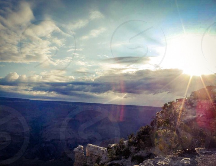 Grand Canyon Sunburst photo