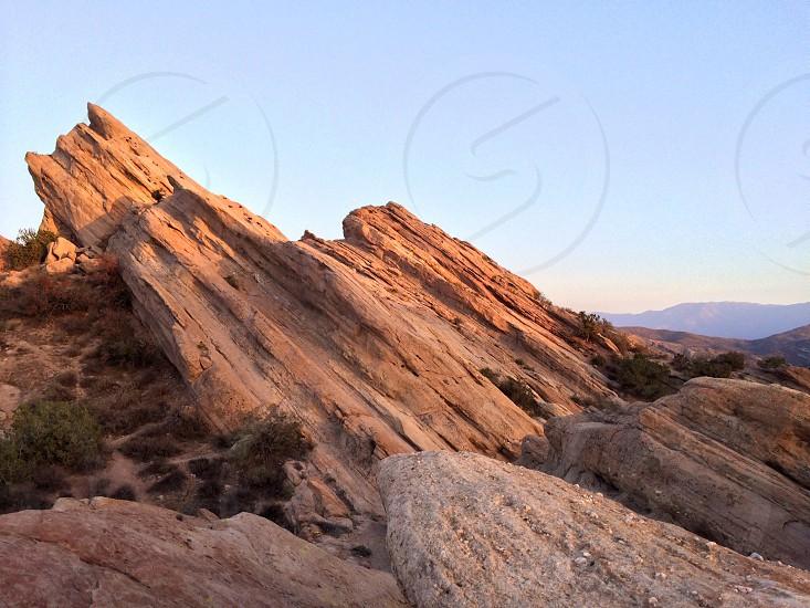 Desert Rock Palmdale CA  photo