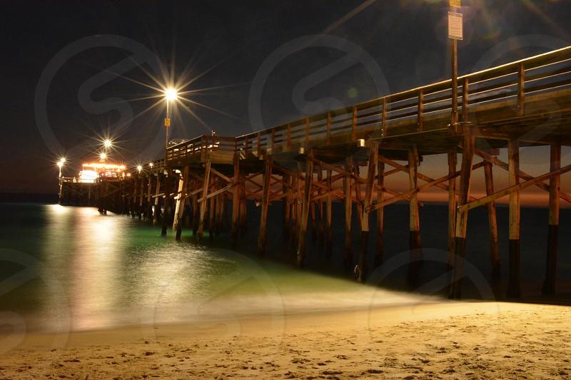 Balboa Pier Sunset photo