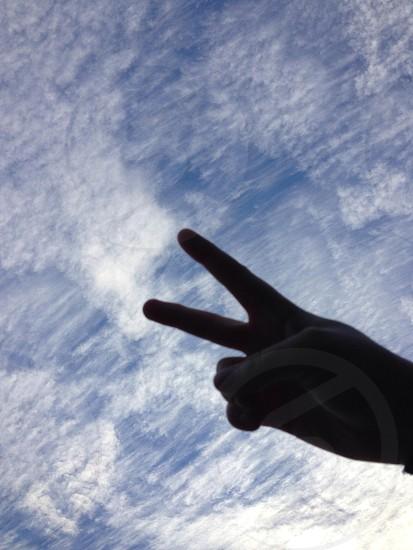 Peace.  photo