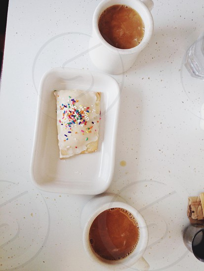 homemade poptarts + coffee at the local diner // photo