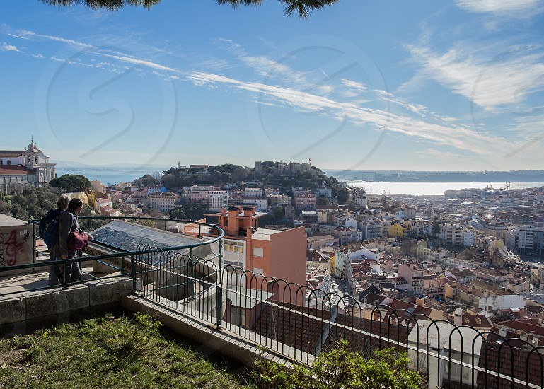 Viewpoint of Our Lady of Mt. in Lisbon photo