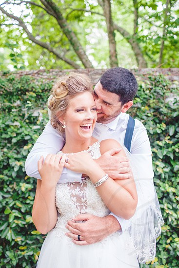 Bride and groom candid photos wedding day couples couples in love  photo