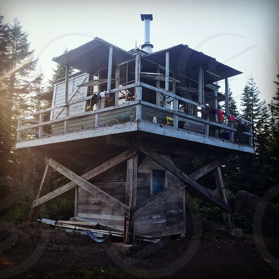 Devils Peak Fire Lookout photo