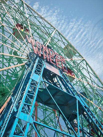 Wonder Wheel Coney Island photo