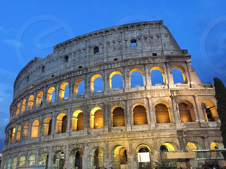 Il Coliseum Rome Italy photo