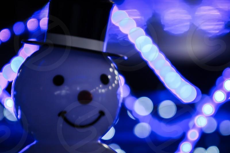 snowman decor photo