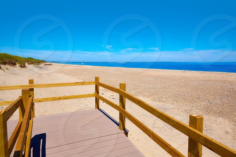 Cape Cod Sandy Neck Beach in Barnstable Massachusetts USA photo