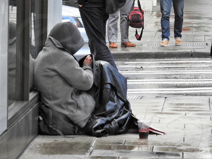 One Of The Many Homeless photo