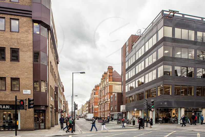 Baker Street Marylebone London photo
