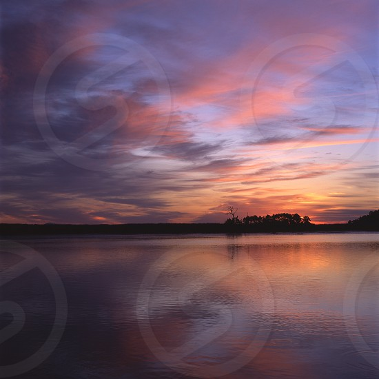 Marshland Sunrise photo