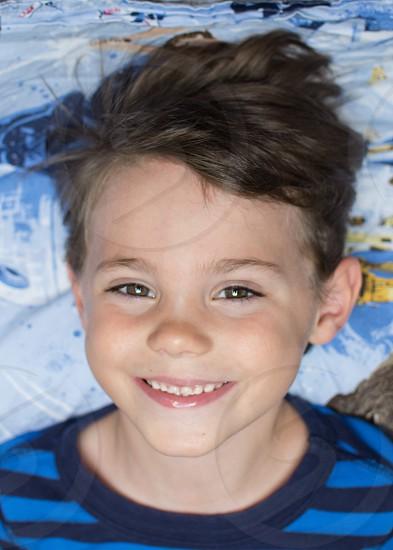 Boy smiling fun smile kid photo