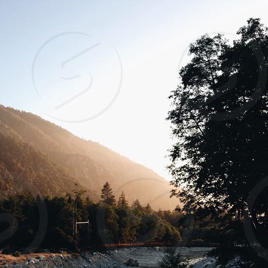 view of green mountain photo