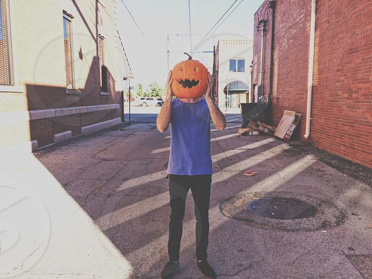 Halloween ghost ghouls fun pumpkin fall city head sleepy hollow photo