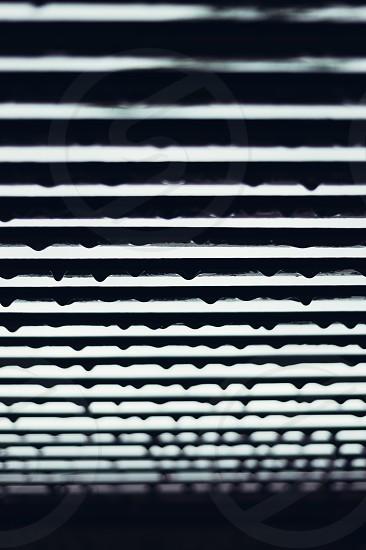 Windowpane rain raindrops photo