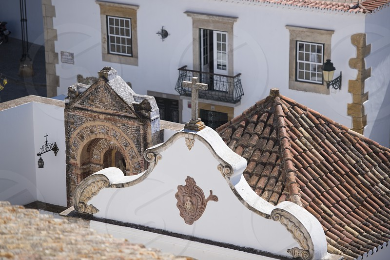 the old town of Faro at the east Algarve in the south of Portugal in Europe. photo