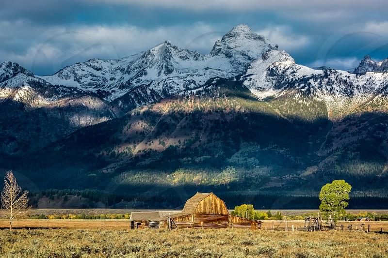 Mormon Row Barn near Jackson Wyoming photo