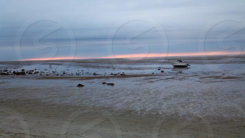 Brewster MA low tide photo