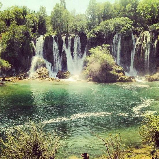 Waterfall of heaven photo