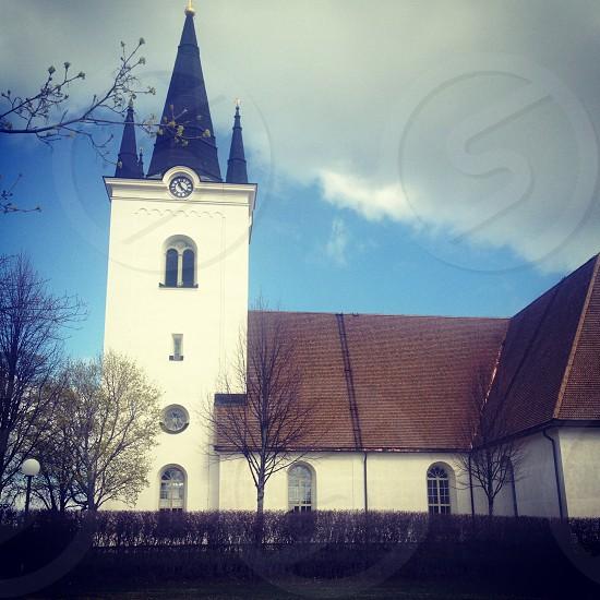Historic church in Dalarna Sweden photo