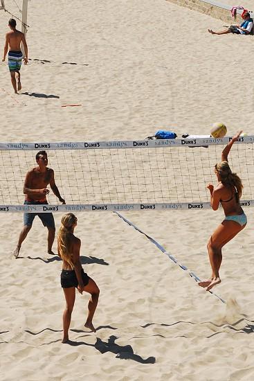 beach volleyball women photo