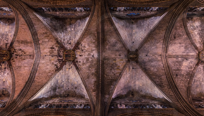 Cathedral in Barcelona Spain photo
