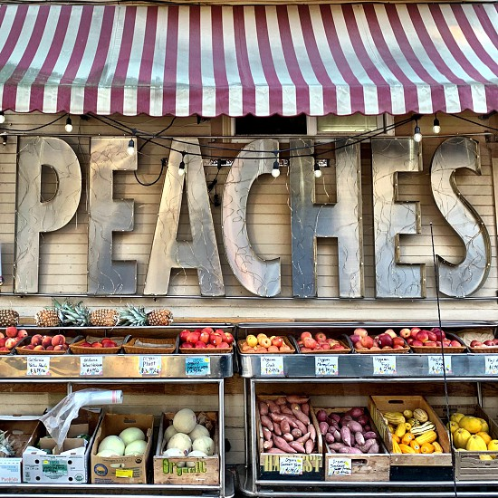 Fruit stand in San Francisco  photo