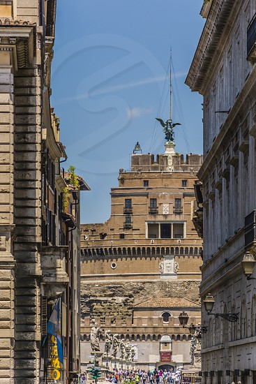 Rome italy tourism castle fortress photo