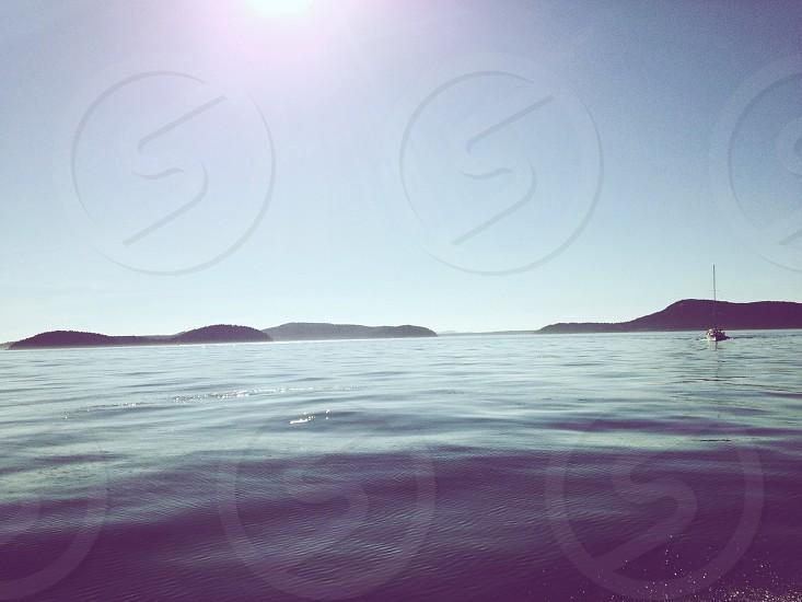 Sailing water Pacific Northwest  photo