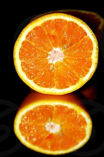 Orange fruit inside photo