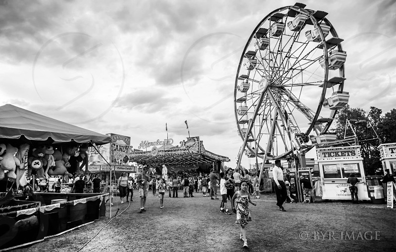 Fair Scene Ferris Wheel photo