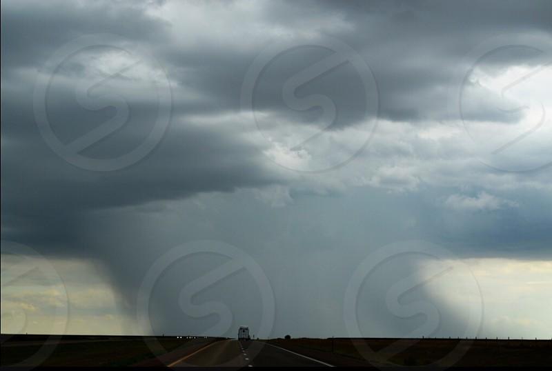 Cloud landscape storm rain vacation photo