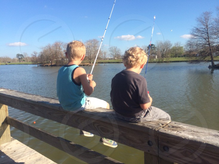 Fishing fun on spring break.  photo