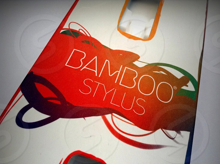 bamboo stylus art photo
