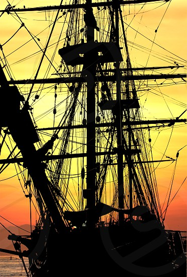 Replica of 18th-century British Navy vessel. photo