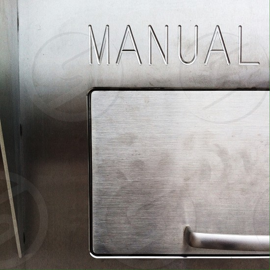 manual silver device photo