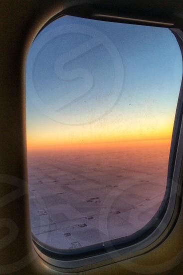 airplane window photo