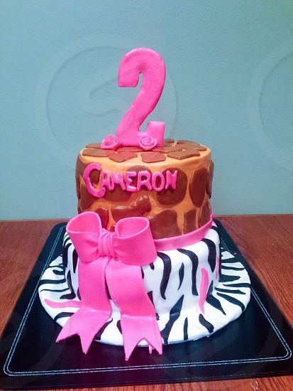 Specialty cake photo