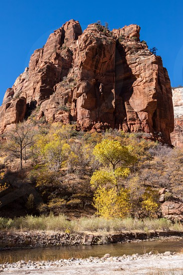 Rocky Outcrop in Zion National Park photo