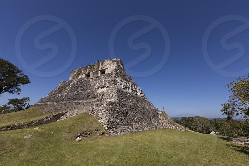 Xunatunich Mayan Ruins Belize. photo