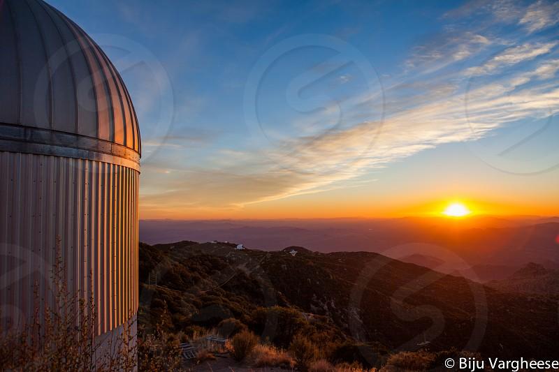 Sunset -Kitt Peak AZ photo