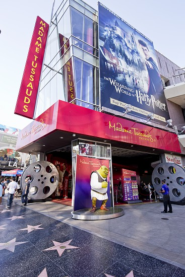 Madame Tussauds hollywood tourism wax museum celebrity famous photo