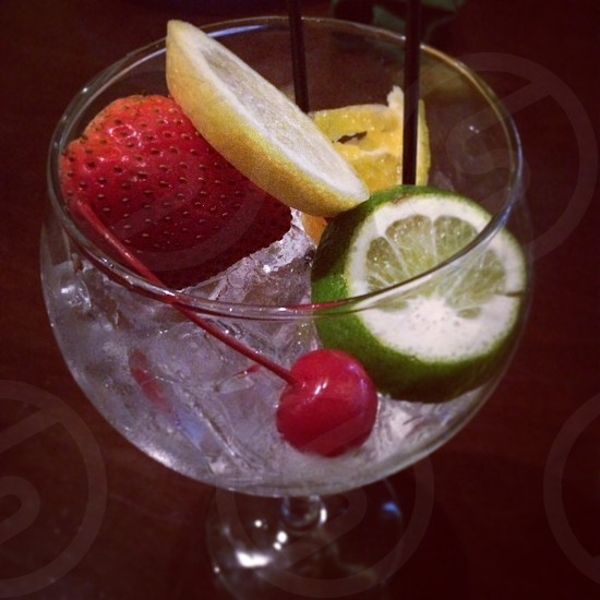 Drinks fruits  photo